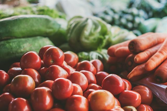 roztříděná zelenina