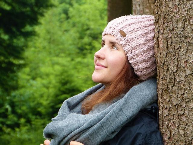 úsměv v lese