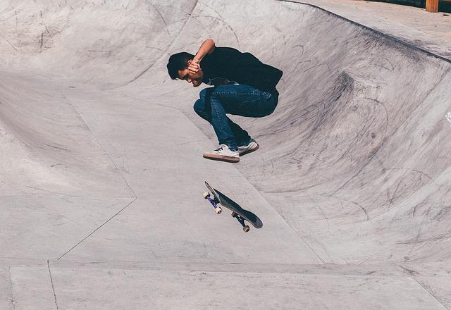 jízda na skateu