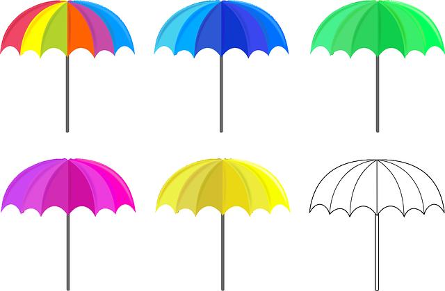 děštníky