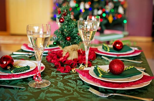 vánoční tabule