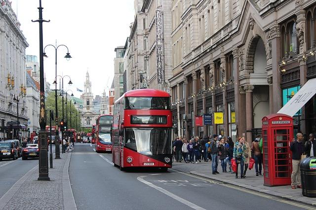 ulice Londýna