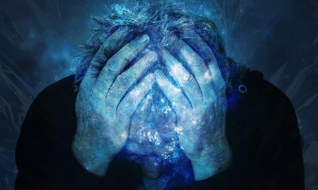 zoufalství staršího muže